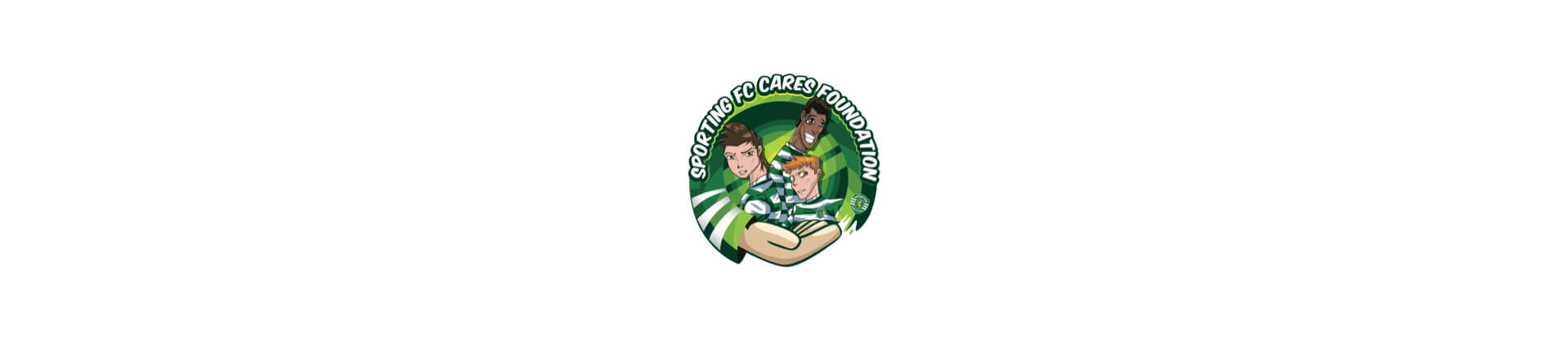 Sporting FC Cares - logo background