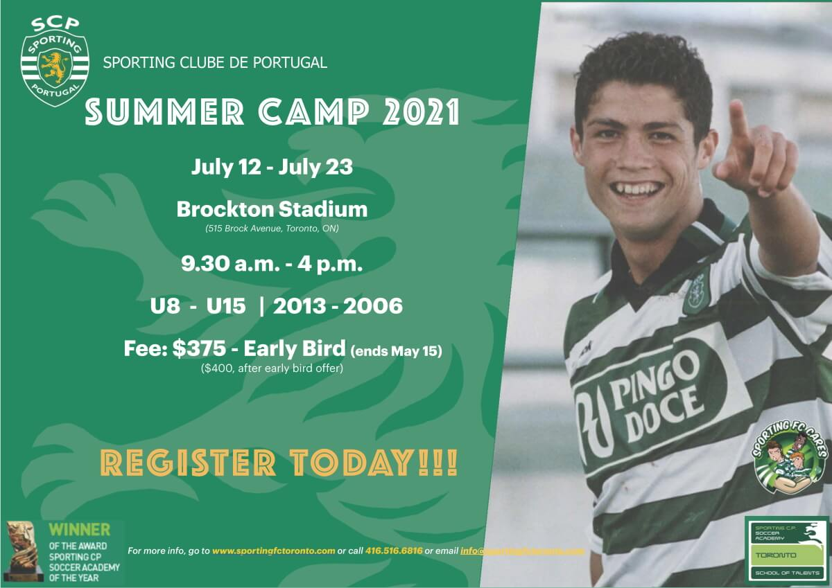 sporting fc toronto - summer camp
